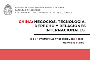 Curso China: Matrículas abiertas