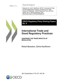 International Trade and Good Regulatory Practices